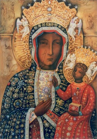 icone de Notre-Dame de Częstochowa