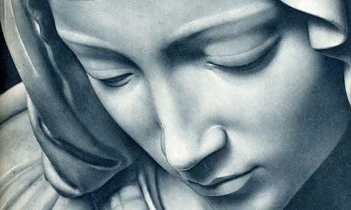 Notre-Dame au pied de la croix