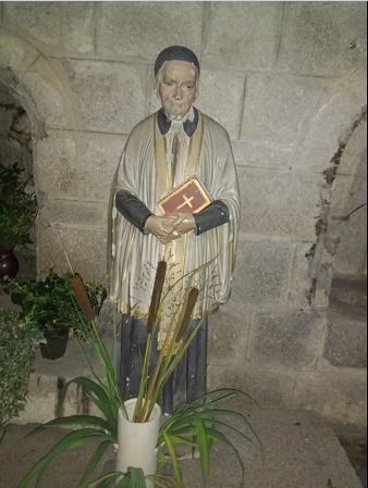 Saint Vincent de Paul - église de La Souterraine (Creuse)
