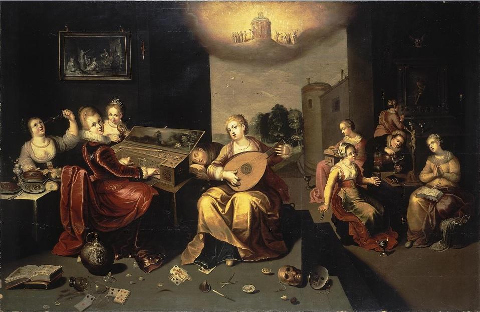 Francken, Jérôme le jeune - Parabole des vierge avisés et folles - 1616
