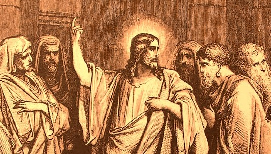 Jésus critique les scribes et les pharisiens