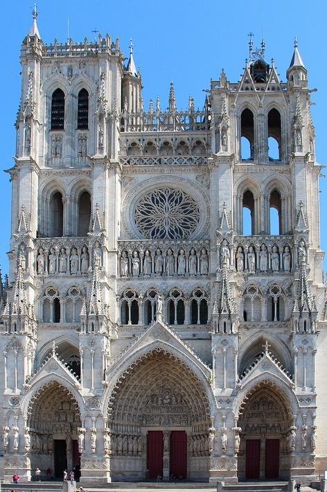 Notre-Dame d'Amiens, la cathédrale gothique la plus vaste de France