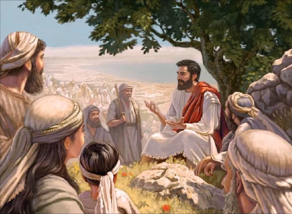 Jésus annonçant du Royaume de Dieu
