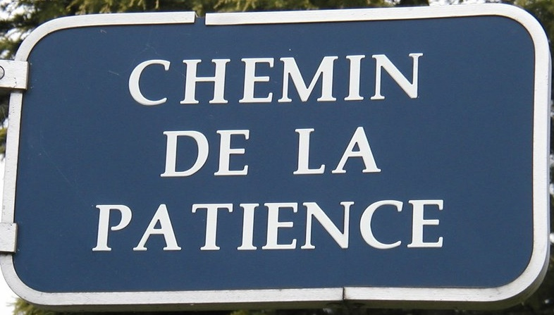 chemin de la patience
