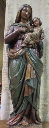 dans l'église Notre-Dame des Vertus à Aubervilliers