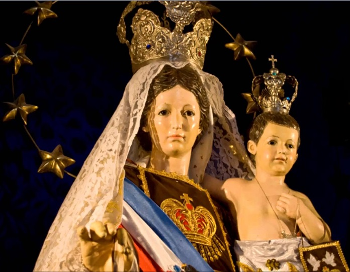Vierge du Mont Carmel - La Tirana Chili