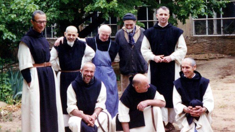 Les moines de Tibéhiirine, dont sept martyrs