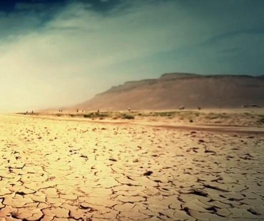 le désert, lieu de l'appel à la transcendance