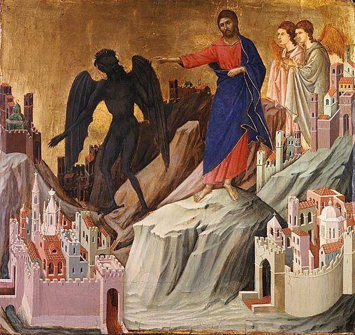 Duccio - Tentation sur la Montagne