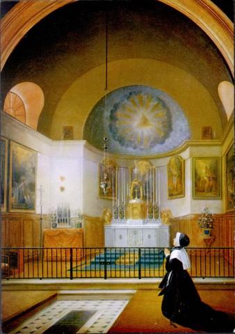 Sœur Catherine Labouré - vision du cœur de saint Vincent de Paul