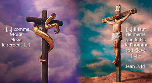 le serpent d'airain et la croix