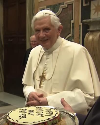Bon anniversaire, Benoît XVI