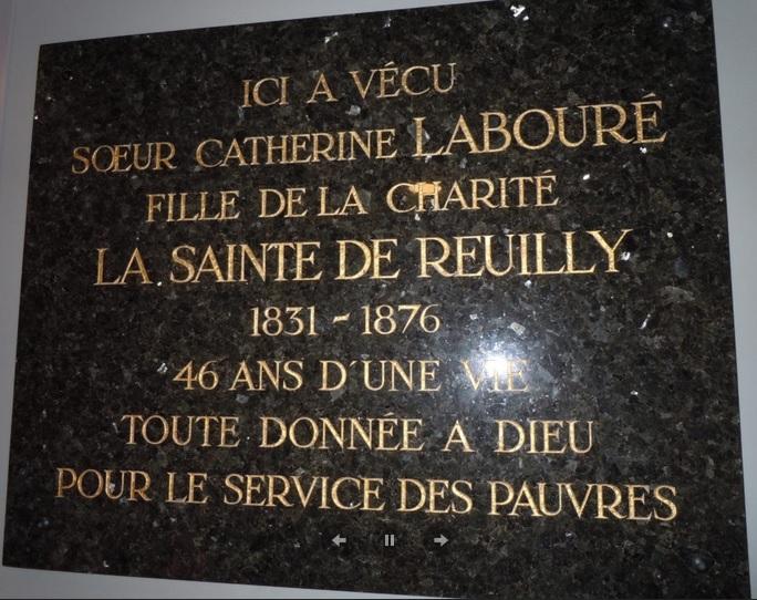 La Sainte de Reuilly