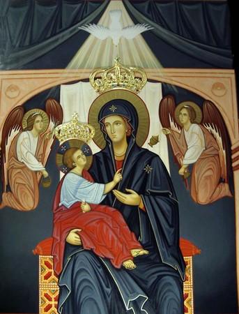 La Vierge du Miracle Notre Dame du Divin Amour