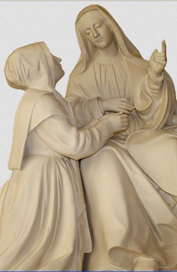 Première apparition de la Vierge à Sœur Catherine