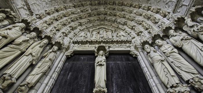 Chartres-sculptures-porche-sud