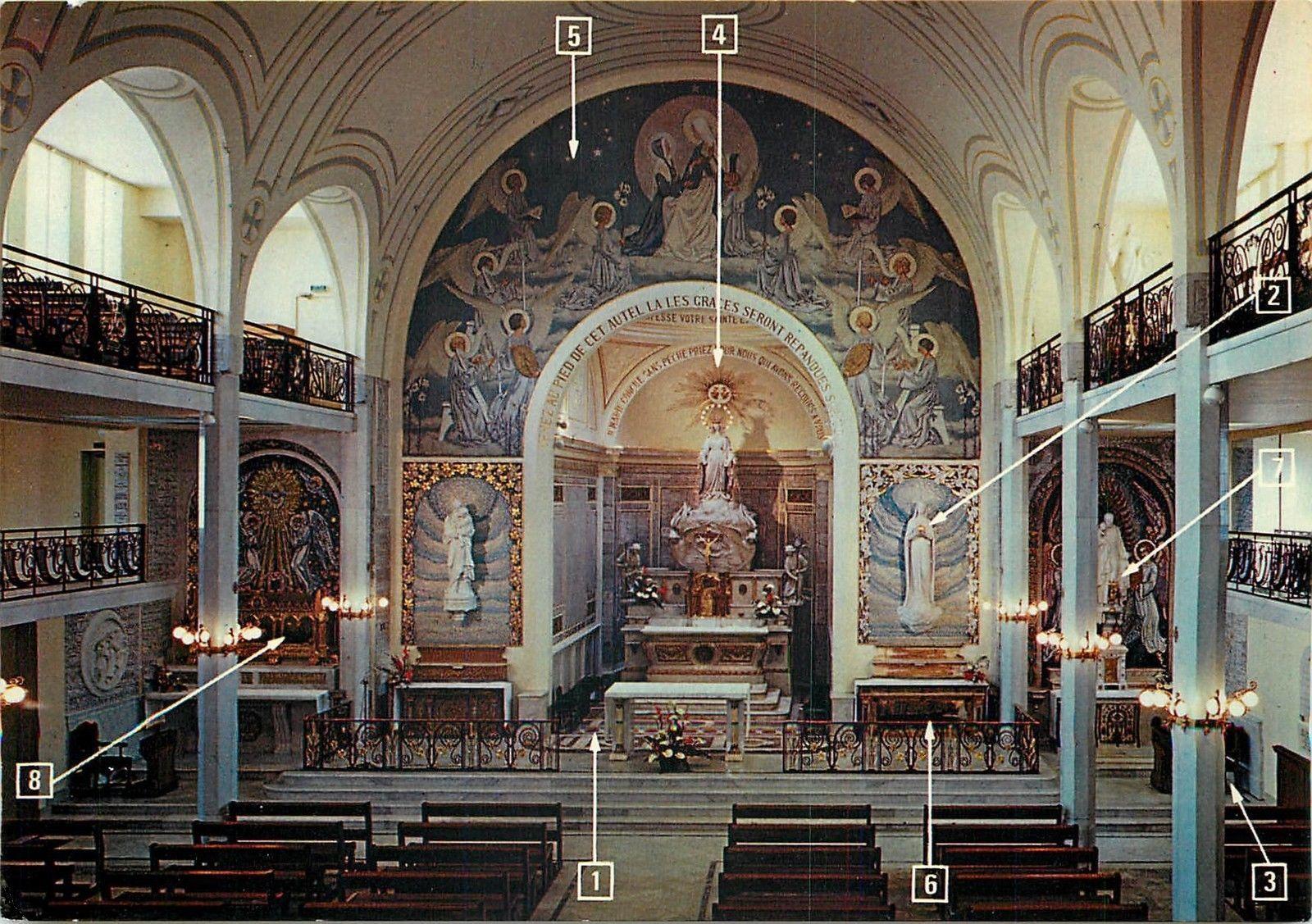 chœur de la chapelle Notre-Dame de la Médaille Miraculeuse