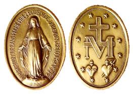 Avers et envers de la Médaille Miraculeuse