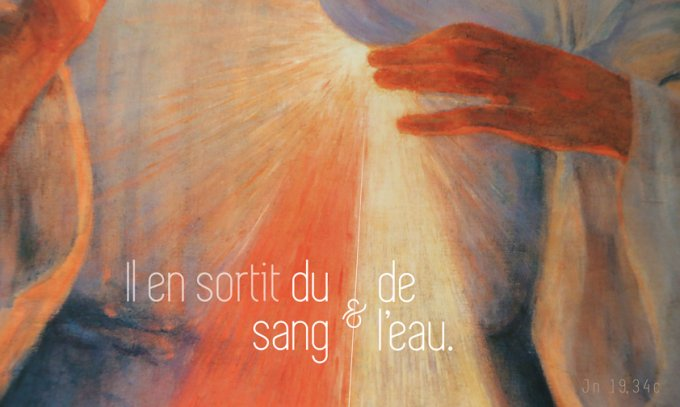 Sang et eau du Coeur du Christ
