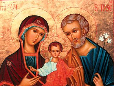 Sainte Famille de Jésus, Marie, Joseph