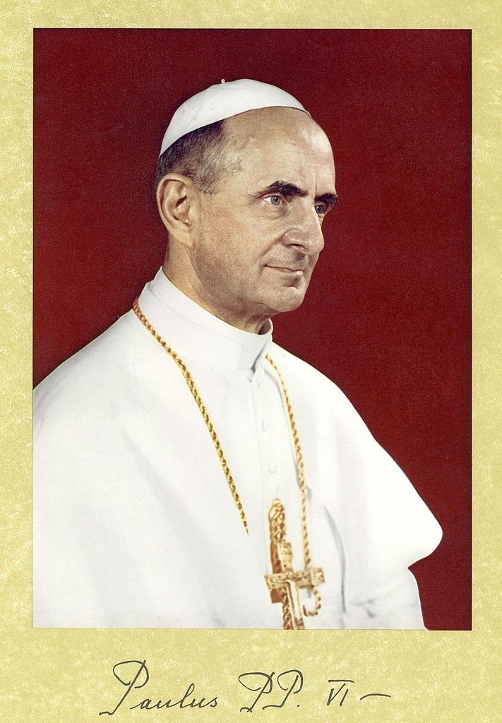 portrait officiel de Paul VI