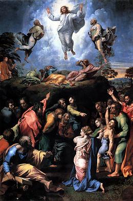 la transfiguration Raphaël Musées du Vatican