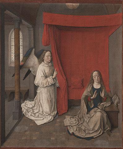 Dieric Bouts Annonciation XVe siècle