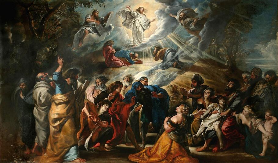 Transfiguration du Christ - Rubens - musée des Beaux-Arts Nancy