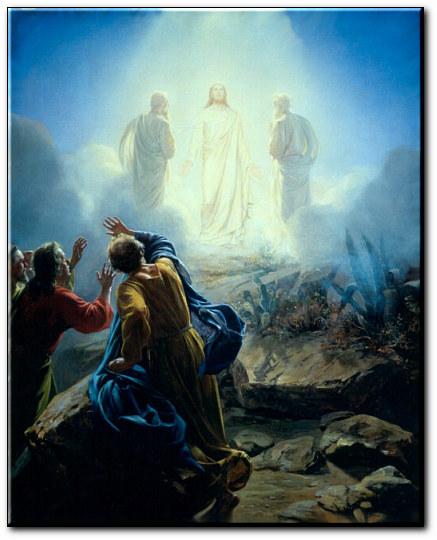 Transfiguration et nuée