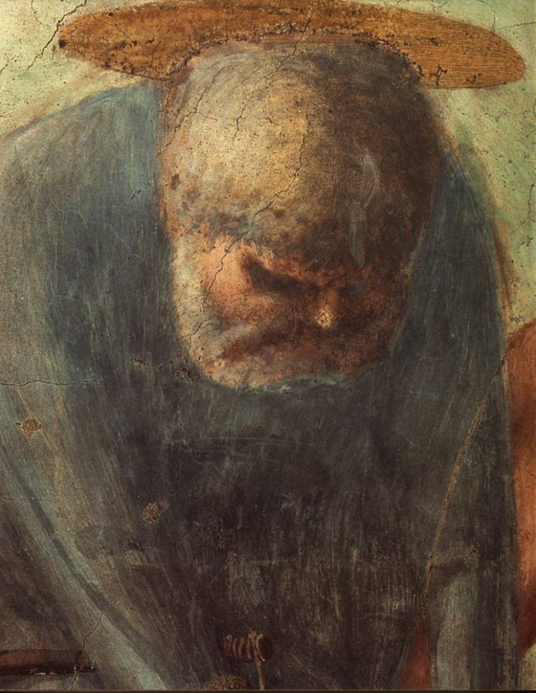 Masaccio Saint Pierre, Cappella Brancacci, Santa Maria del Carmine, Florence - début XVe siècle