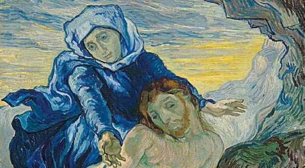 Pietà, Vincent Van Gogh (1853-1890) d'après Delacroix