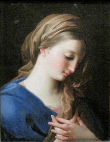 La Vierge de l'Annonciation Pompeo Girolamo Batoni 1742