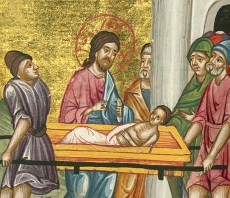 guérison du fils de la veuve de Naïm
