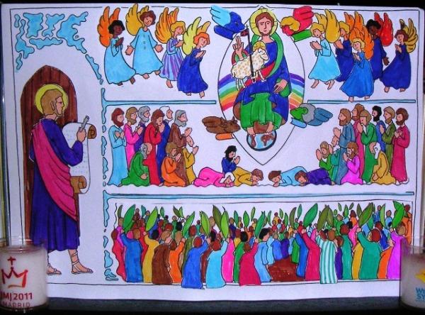 Toussaint des enfants diocèse de Paris
