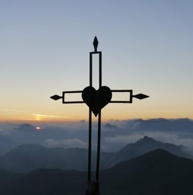 au sommet du Grand Aréa - Alpes