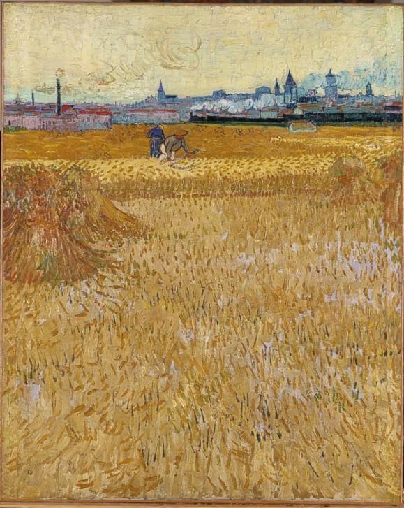Vincent Van Gogh - Les Moissonneurs 1888