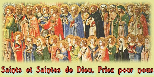 saints et saintes de Dieu