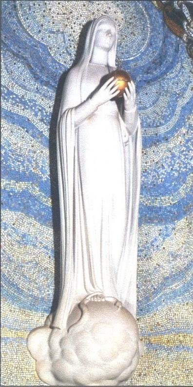 La Vierge puissante - ND de la médaille Miraculeuse - rue du Bac Paris