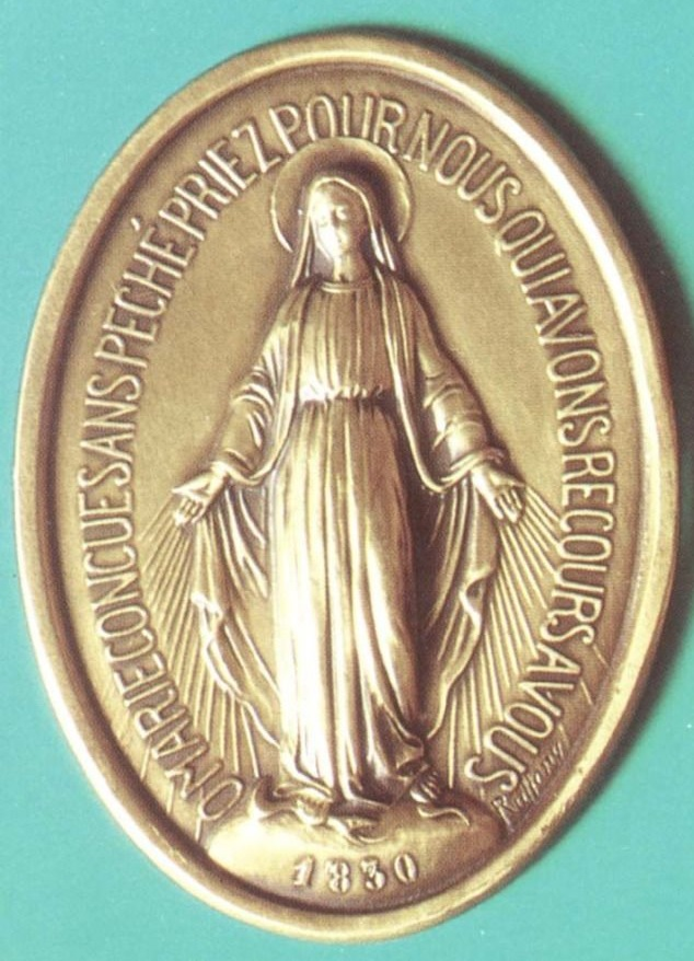 Médaille Miraculeuse avers