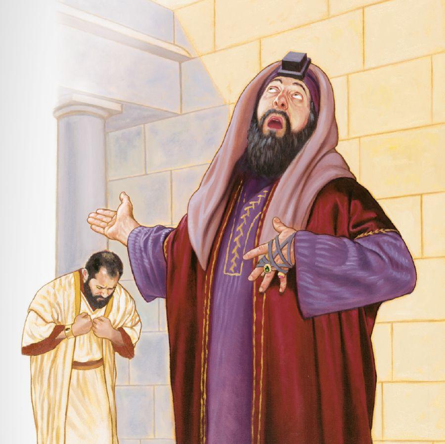 Un Pharisien et un collecteur d'impôts - faut-il se vanter ?