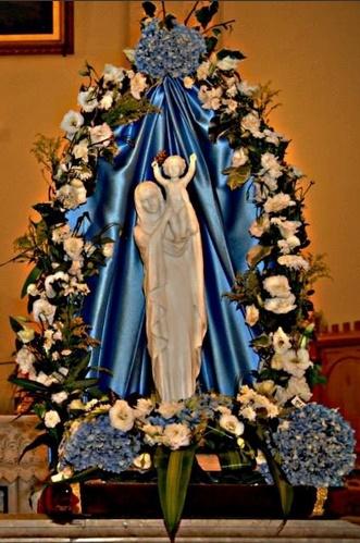 Vierge Marie Reine de la Paix 15 août 2013 cathédrale Notre-Dame de l'Assomption Alep Syrie