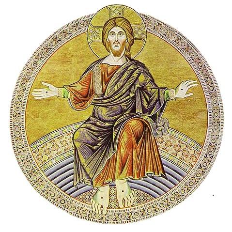 Christ Roi - baptistère de la cathédrale de Florence
