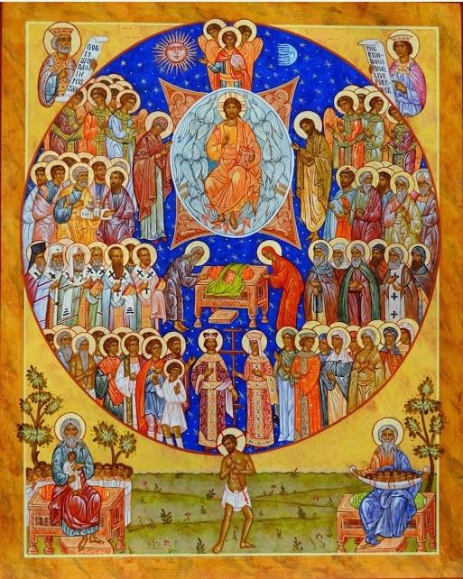 icône des saints