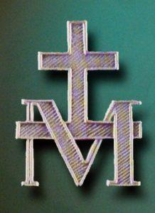 la lettre M et la Croix