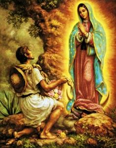 Notre Dame de la Guadelupe et Diego