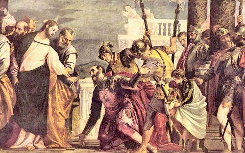 Véronèse Jésus et le Centurion