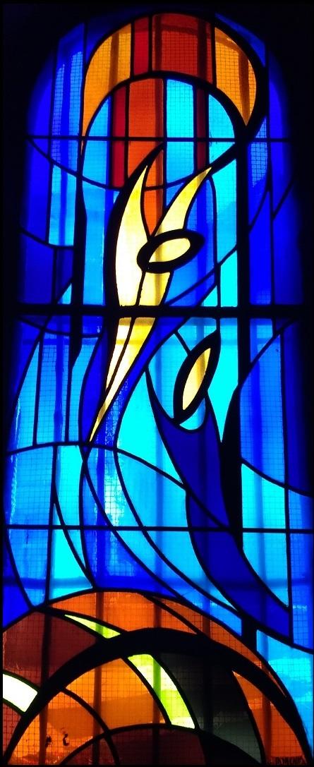 L'Annonciation - J. Dorchies ( 1973) - église de Bort-les-Orgues Corrèze