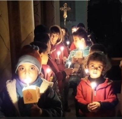 campagne pour la Syrie par la Fondation Pontificale Aide à l'Église qui souffre