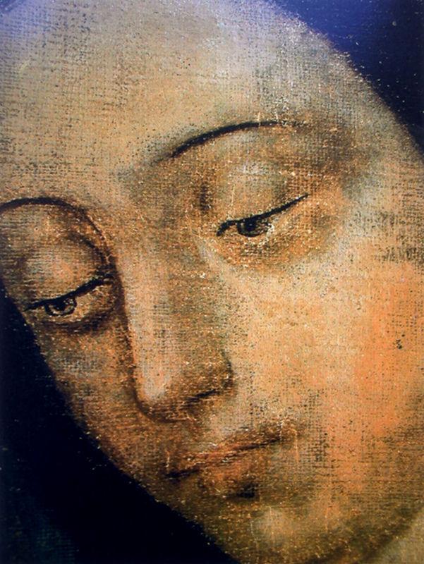 visage de Notre Dame de Guadalupe