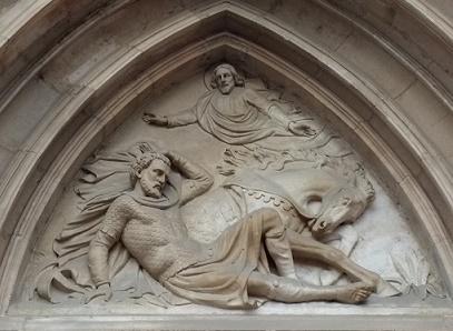 Saint Paul converti sur le chemin de Damas Église Saint Paul Lyon